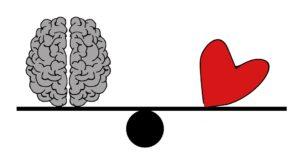 Balance brain vs heart